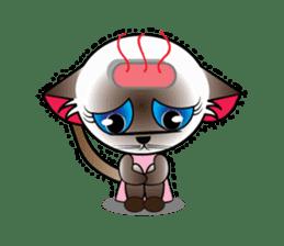 Baby Cat pink pink sticker #2709468