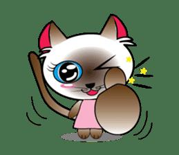 Baby Cat pink pink sticker #2709470