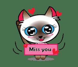 Baby Cat pink pink sticker #2709479