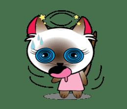Baby Cat pink pink sticker #2709491