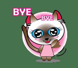 Baby Cat pink pink sticker #2709495