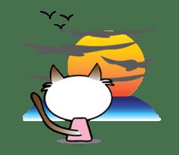 Baby Cat pink pink sticker #2709498
