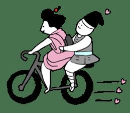 Cycling SAMURAI sticker #2713185