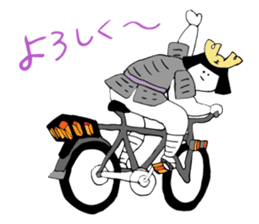 Cycling SAMURAI sticker #2713195