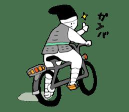 Cycling SAMURAI sticker #2713199