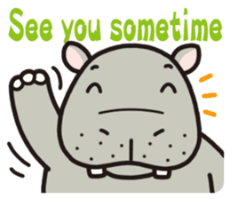 See you!Animals sticker #2715191