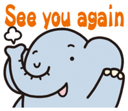 See you!Animals sticker #2715197