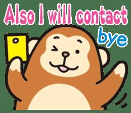 See you!Animals sticker #2715198