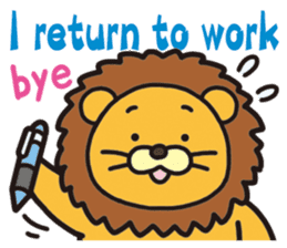 See you!Animals sticker #2715209