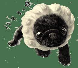 Boku Pug sticker #2715488