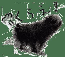 Boku Pug sticker #2715499