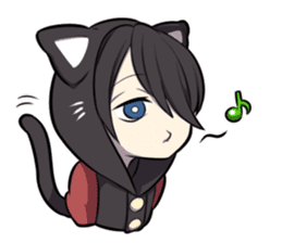BLACK KITTEN sticker #2722707