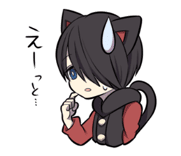 BLACK KITTEN sticker #2722735