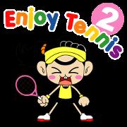 สติ๊กเกอร์ไลน์ Enjoy TENNIS 2