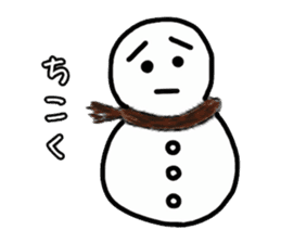 snowy lump sticker #2729653