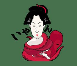 Here are Samurai era Stickers sticker #2740172