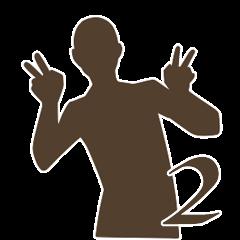 ShadowMan gesture2(English ver)