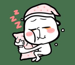 Be a child ! Mini Mochi man PUCHU ! sticker #2746549