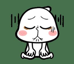 Be a child ! Mini Mochi man PUCHU ! sticker #2746552