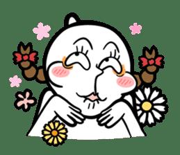 Be a child ! Mini Mochi man PUCHU ! sticker #2746558