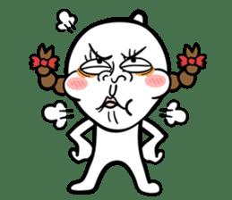Be a child ! Mini Mochi man PUCHU ! sticker #2746560