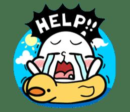 Be a child ! Mini Mochi man PUCHU ! sticker #2746568