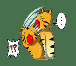 Daily life of fierce animals sticker #2747226