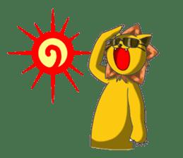 Daily life of fierce animals sticker #2747238