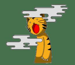 Daily life of fierce animals sticker #2747243