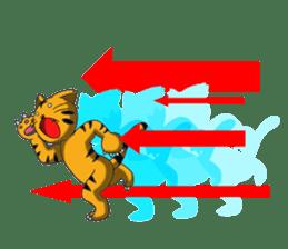 Daily life of fierce animals sticker #2747246