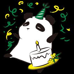 Knit panda