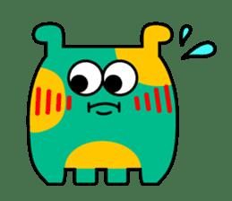 Comic Monsters sticker #2750252
