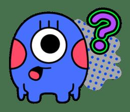 Comic Monsters sticker #2750272