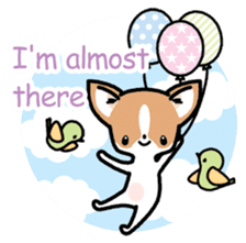 Kawaii Chihuahua (English) sticker #2752349