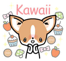Kawaii Chihuahua (English) sticker #2752353