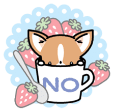 Kawaii Chihuahua (English) sticker #2752358