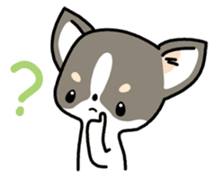 Kawaii Chihuahua (English) sticker #2752362
