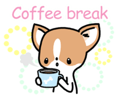 Kawaii Chihuahua (English) sticker #2752366