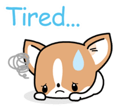 Kawaii Chihuahua (English) sticker #2752368