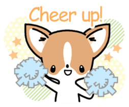 Kawaii Chihuahua (English) sticker #2752370