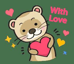 Ferret Good luck(English) sticker #2753595