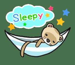 Ferret Good luck(English) sticker #2753598