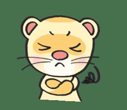 Ferret Good luck(English) sticker #2753599