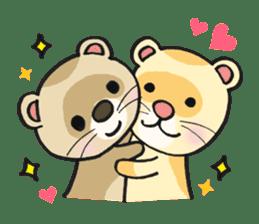 Ferret Good luck(English) sticker #2753600