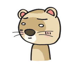 Ferret Good luck(English) sticker #2753602