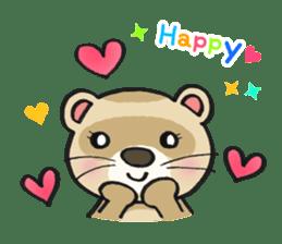 Ferret Good luck(English) sticker #2753611
