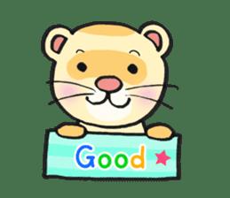 Ferret Good luck(English) sticker #2753612
