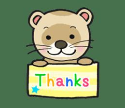 Ferret Good luck(English) sticker #2753613