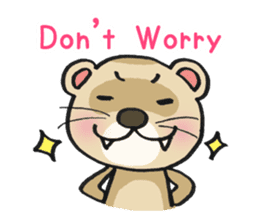 Ferret Good luck(English) sticker #2753614