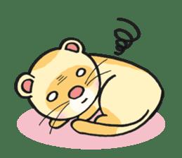 Ferret Good luck(English) sticker #2753619
